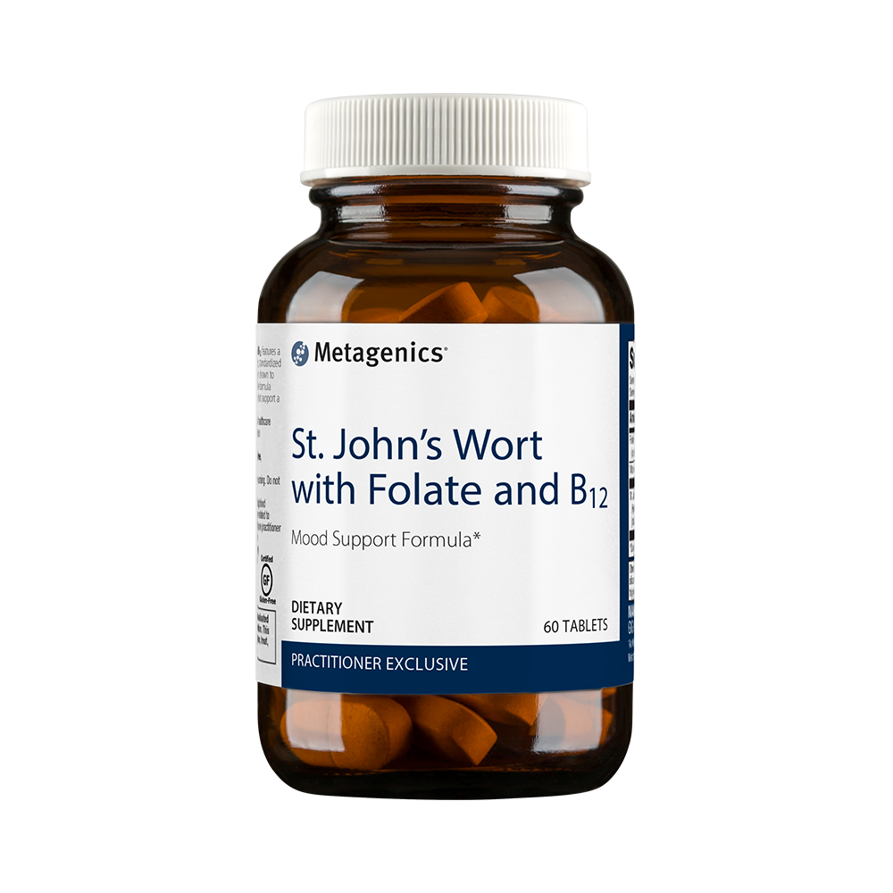 St. John's Wort with Folate and B12